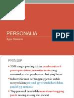PERSONALIA 29