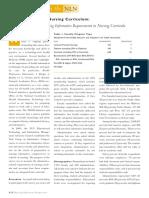 Informatics in the Nursing Curriculum