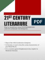 21st Cent. Postmodernism