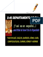 _ TILDE en QUE CUAL_Compendio Spanish Language1