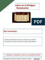 El Maestro en El Antiguo y Nuevo Testamento