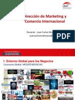 Curso Direccion de Marketing y Comercio Internacional Ppt Usat 2019