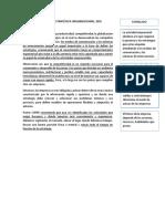 Modelo de La Gestión Estratégica Organizacional Sumillado
