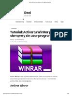 Activar Winrar_ Para Siempre y Sin Utilizar Programas