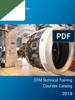 CFM Technical Training Course Catalog 2019