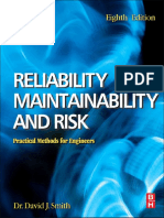 David J Smith, Reliability, Maintainability and Risk,7th edn. ONLY TOC