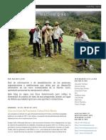 Nacion Qero en La Lista Del Patrimonio en posible extincion