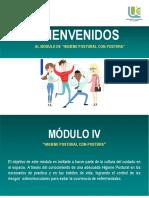 Modulo IV. Higiene Postural Con-Postura