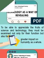 Technology a Way of Revealing