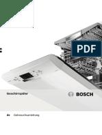 Bedienungsanleitung Bosch SMU53M75EU - SuperSilence