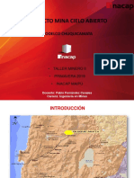Taller Minero II Chuquicamata