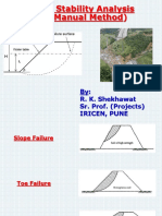 Slope Stability Analysis Manual