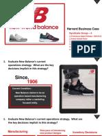 2019 09 20 New Balance Harvard Business Case