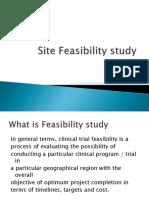 Site Feasibility Study