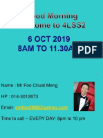 Wuc Tutorial 1. Sept 2019