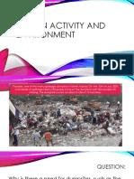 Human Activity and Environment