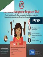 Sick With Chikv Denv Zika