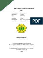 RPP Kelas 1 Tema 3 Sb3 PB4