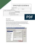 Escrituração Fiscal - Apuração de Estorno de Crédito