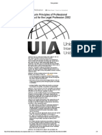12. Pp. 379-384. UIA Turin Principles of Professional Conduct for the Legal Profession 2002