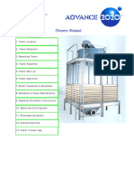 Operational & Maintenance Manual for Cooling Tower