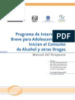 Manual de Intervencion Breve Para Adolescentes