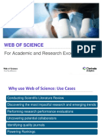 PPT on Web of science