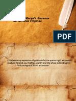 Annotations of Morga's Successos de las Islas