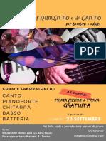 Flyer Corsi Parella