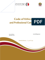 Code and Conduct Form