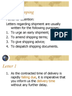 Unit 10 Shipping Part 1