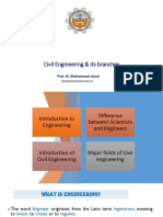 Civil Engineering  & its branches