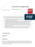 122695 OYO Batting for a Lower GST For