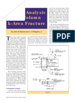 AISC Failure Analysis Column K-Area Fracture