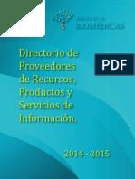 Directorio Proveedores 2015