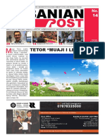 Albanian Post - TETOR