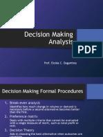decision making analysis