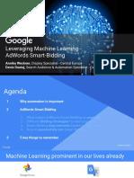 Google Leveraging Machine Learning_AdWords Smart Bidding