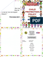 child protection booklet