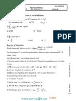 Devoir de Synthèse N°2  -Math   -BacSciences exp (2013-2014)Mr khalifa braik.pdf