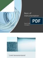 Basic of Instrumentation Eyass