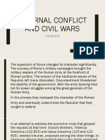 Internal Conflict and Civil Wars