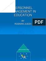 Personnel Management in Education[1]