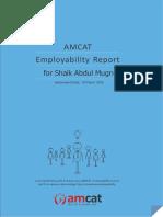 Amcat Report