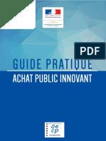 Guide Pratique Achat Public Innovant