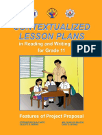 Contextualized LPs in Reading and Writing Skills, Canto