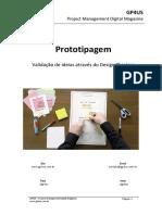 Prototipagem - Validação  de ideias através do Design Thinking