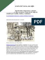 Articulo. El Debut Literario de Lorca