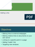 Lesson 04 - Adding Links
