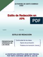 Registro de la APA